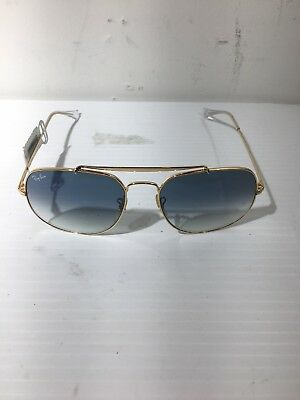 af9bca22def6a5 Ray-Ban The General Sunglasses RB3561 001 3F 57-17 Light Blue Gradient