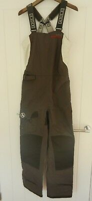 NEW with tags Ladies AIGLE Actimum Ocean Sailing Trousers / Salope 10 Anthracite