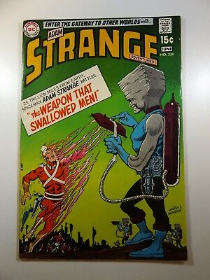 """Strange Adventures #224 """"The Weapon That Swallowed Men!"""" Beautiful VF- Condition"""
