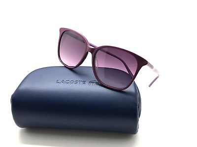 e9329938aef5 Authentic Lacoste L787s Cyclamen (526) Women s Sunglasses 56mm