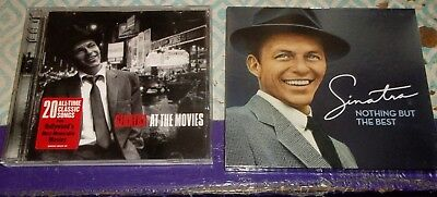 Lot Of 2 Frank Sinatra Nothing But The Best At The Movies  Cd (D2D3)