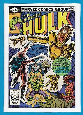 "Incredible Hulk #259_May 1981_Very Fine_""the Source Sinister""_Bronze Age Marvel!"