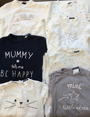 🌸♥ Kiabi ♥🌸 T 9 Mois🌸 Lot 7 Pyjamas🌸 Tbe ♥🌸