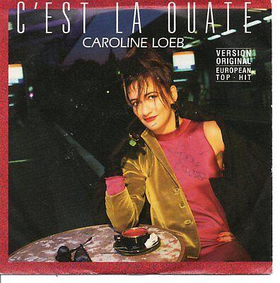 "CAROLINE LOEB - C'est la quate - And so what -  Barclay 7"" single germany"
