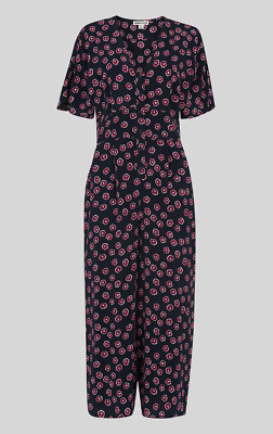 a50552849ab6 Whistles - £139 Lenno Floral Jumpsuit - Multi - New With Tag - Size 14