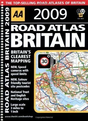 AA Road Atlas Britain (AA Atlases and Maps) (AA Atlases and Maps)