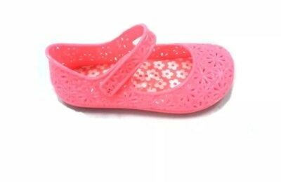 335bc44fb9c9 NEW WONDER NATION Toddler Girls Mary Jane Jelly Shoes in White ...