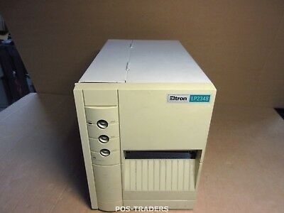 Zebra Eltron FDX LP2348 Lable Barcode Thermal Printer Thermo Drucker BENT COVER