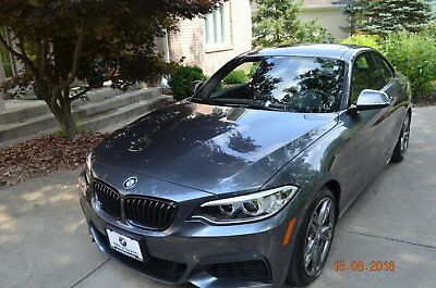 2017 BMW M Roadster & Coupe M240i 2017 M240i Used Certified Turbo 3L I6 24V Automatic AWD Coupe Moonroof Premium