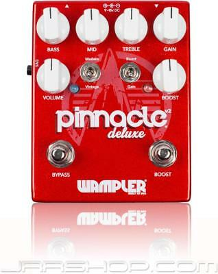 Wampler Pinnacle Deluxe v2 Distortion Pedal  + Tone Bakery Creme Fraiche Bundle
