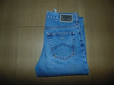 "Boys Armani Junior light blue denim jeans Waist 26""  #B130"