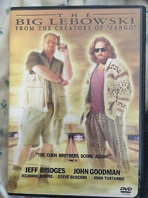 The Big Lebowski (DVD, 1998, Closed Captioned)