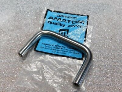"""RAF 8239-1032-SS Stainless 1-3//4 leg height 6/"""" Length Pull Handle lot of 2 #309"""