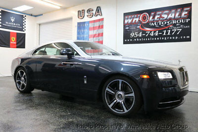 2015 Rolls-Royce Wraith 2dr Coupe CARFAX CERTIFIED . FULLY LOADED. MINT CONDITION. VIEW IMAGES. CALL 954-744-1177