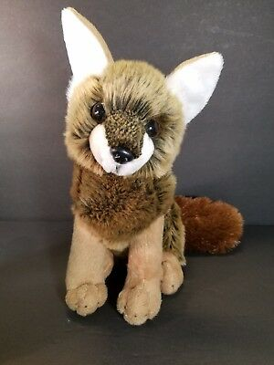 "Wildlife Artists Wild Red Fox Stuffed Animal Toy Plush 10"" NWOT Realistic"