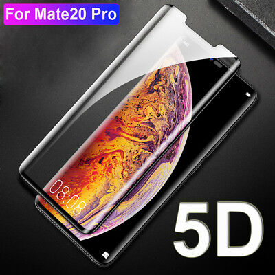 Genuine 5D Full Cover Tempered Glass 9H Screen Protector For Huawei Mate 20 Pro