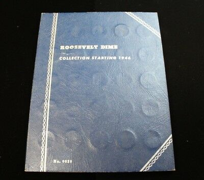 ***ALMOST DONE*** Roosevelt Dime Book 90% SILVER (CC3530)