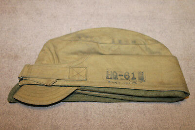 Scarce Original WW1 U.S. Army Soldier's Cold Weather Hat, Unit & GI Stamped