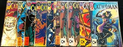 DC Catwoman Vol 2 from #1-10 Lot of 10 VF+ to M Free Shipping!