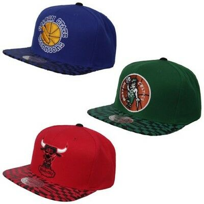 Mitchell & Ness NBA Kaleidoscope Cap Basketball Snapback One Size Baseball Cap