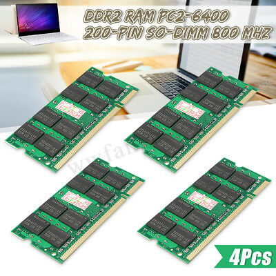 8GB 4G 2G DDR2 RAM PC2-6400 200-pin SO-DIMM 800 MHz Laptop Memory Notebook PC AU