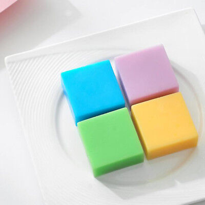 6 Cavity plain basic rectangle silicone mould for homemade craft soap mold NT