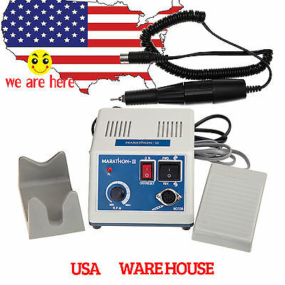 Dental Lab MARATHON Micromotor Machine N3 + 35K RPM Polishing Handpiece 110/220V