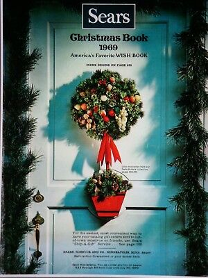 vintage 1969 SEARS CHRISTMAS CATALOG on DVD /  WISH BOOK