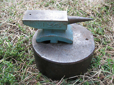 Vtg Old Rare 1.12 Lbs Russian Steel Jewelers Silversmith Horn Anvil Tool Marked