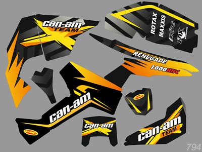 GRAPHICS BRP Can-am Renegade decals kit 2006-2017 [794]