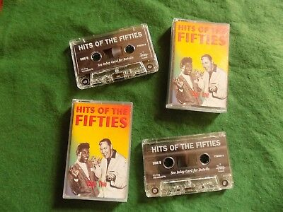 VARIOUS Hits of the fifties X2 50's POP