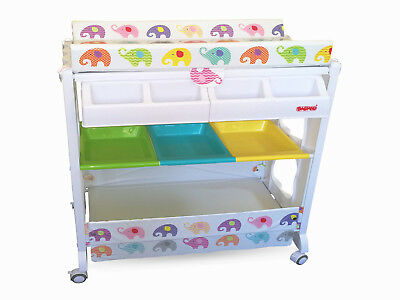 Happy Days Changing Station with Bath Changing Unit by Babyco-