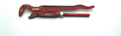 "Mannesmann Professional Pipe Wrench 300mm <> 1"" <> Adjustable S - Mouth GS TUV"