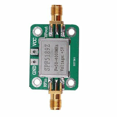 LNA 50-4000 MHz RF Low Noise Amplifier Signal Receiver SPF5189 NF = 0.6dB inm HJ