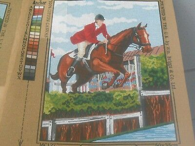 """Penelope """"Clear Round""""  Printed Tapestry Canvas only"""