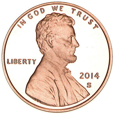 2014 S Lincoln Shield Cent Gem Deep Cameo Proof Penny