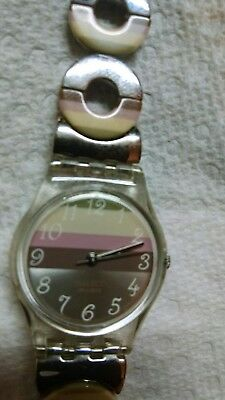 Ladies SWATCH watch with new battery