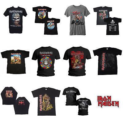Iron Maiden OFFICIAL Choice Of T-Shirts Eddie The Trooper Heavy Metal Gift