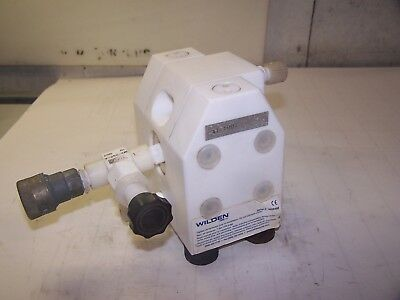 Wilden Almatec E Series Chemical Diaphragm Pump Air Pressure 7 Bar (100 Psig)
