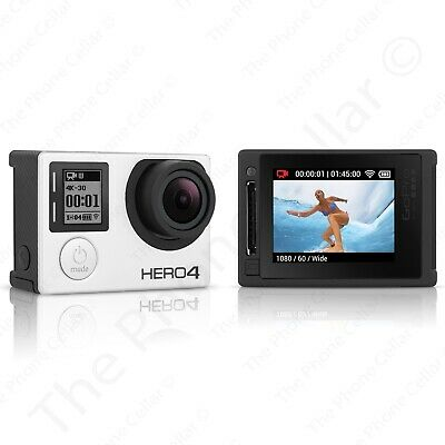 GoPro Hero 4 Silver Edition Camcorder CHDHY-401 Touch Screen