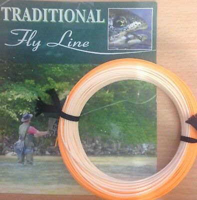 New Formulated Fly Lines For 2018 Shooting Head Trout Fly Line Orange / Peach