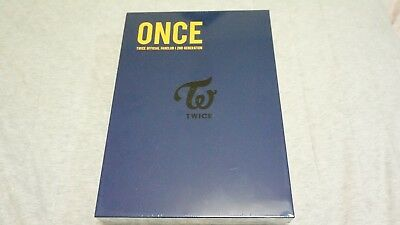 Twice Once 2nd Official Membership Fan Kit Limited Rare Opened