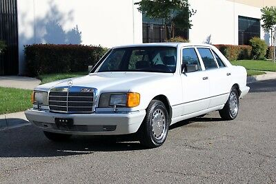 1989 Mercedes-Benz 400-Series 420 SEL, One Owner, 100% Rust Free California Car California Original, 1989 Mercedes Benz 420SEL (126), One Owner, No Reserve