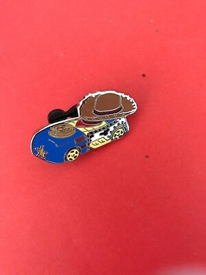 Disney 2016 Mystery Racer Series Toy Story Sheriff Woody Race Car Pin New