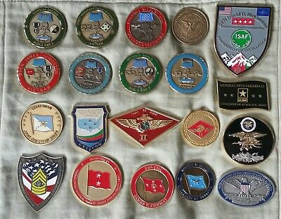 Medal of Honor Generals Military challenge coin 140 total coins Rare Make Offer