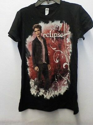 JUNIORS WOMENS TWILIGHT SAGA ECLIPSE EDWARD GRAY GRAPHIC TSHIRT NEW  #13210V