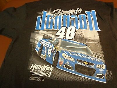 dee70c5b1463 NASCAR Jimmie Johnson #48 Lowes Racing Hendrick Motorsports T-Shirt XL New  Y5