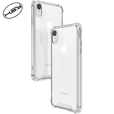 Clear Silicone Case For Apple iPhone XR Thin Soft TPU Back Cover