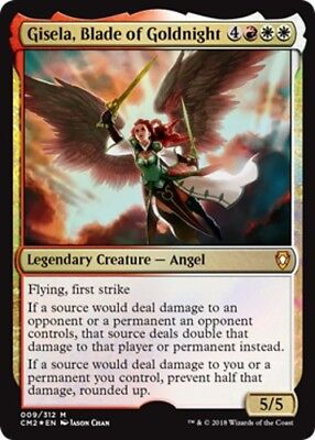 1x FOIL GISELA, BLADE OF GOLDNIGHT - Commander - MTG - NM - Magic the Gathering
