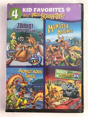 NEW DVD What's New Scooby -Doo 4 Kid Favorites: Zoinks Camera! Action! Monster
